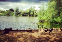 MIDLANDS, UK. / Carp Fishing Lakes and Venues Situated in The Midlands, United Kingdom.
