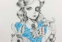 steampunk ilastrations