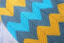 Chevron Crochet / Crochet patterns and crochet inspiration for chevrons, ripples and waves.