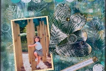 Scrapbooking with Gelli Arts® / This board will be for all the amazing Gelli art and backgrounds created for Scrapbooking. Enjoy! / by Gelli Arts®