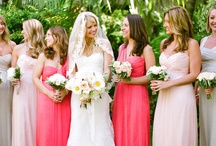 Wedding Colours and Bridesmaids Dresses