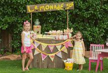 birthday: lemonade stand party