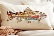 cuscini e ricami di mare e altro