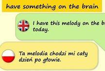Kilka idiomów angielskich na dziś :)