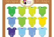 Rainbow Baby Onesies