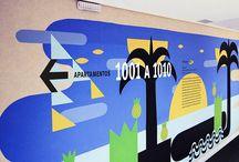 Art - Arte / Este painel é dedicado a projetos diferentes e arrojados. Viva a ousadia décor - This panel is dedicated to different and bold projects. Live the daring decor!