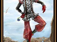 Fool iunsopiration / The Tarot Fool image as inspiration for clothing