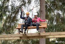 Rope courses, rope parks / Lanová centra a parky