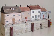 tahta evler