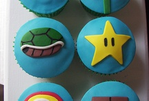 Nintendo cupcakea