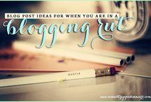 Blog Tips/Ideas