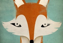 Foxes / My fav animal! / by Coki Milktoothrain