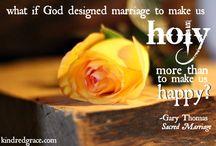 Štěstné manželství je jako bárka na moři, střežená naším Pánem.