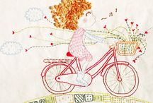 Velociped / Bicycle decor, to ride, to wear. We love bikes!