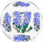 Hand painted Dinnerware Sets / Imagine the fun you will have at a dinner party or luncheon with these classic designs hand paited on your dinnerware adorning the table. These dinnerware pieces make your special occasions a time to remember...