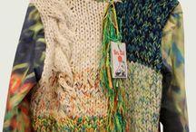 pletené a háčkované svetry, pulovry
