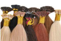 I / U / FLAT TIP HAIR EXTENSIONS