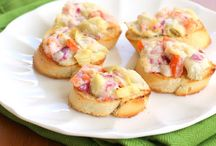 Appetizers / Perfect little recipes to serve as appys!! I could eat a meal of just appetizers! / by Foodie ~ Mommie