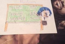 My Blueberry Super Bros drawings / Blueberry the Smartest one of the Super Bros  and Blueberry's special powers are speaking different languages and Super speed Blueberry was born on November 17 1998 Blueberry is 5 years old and Blueberry brothers are Zack and Red and  Blueberry ingredient is books