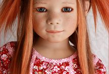 Meisje met rood haar - Miriam BJ Dolls