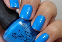 OPI Blue / A collection of OPI Nail Polish