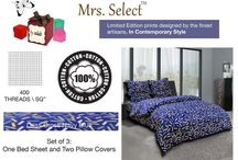 Mrs. Select / A Collection Of Limited Edition Designs!! Finest Of The Artisans Work Day & Night To Create Some Exclusive Designs Which Can Be Cherrished Forever!!! Yours Truly Mrs. Select
