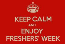 Keep calm..its only freshers week! / It is that time of the year, where new dreams are formed, new friends are made, memories are gathered and experiences are lived. Yes, it is freshers week!  Revs tells you how to stay calm during these crazy times!