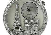 relógio e jóias