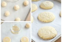 Quick& easy homemade ( no roll) soft or crisp sugar cookies