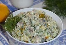 κартофелный салат с селедкой