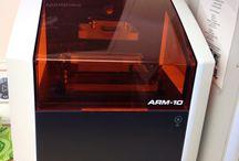 Roland ARM-10 3D-tulostin / Kivia Roland ARM-10 3D-tulostimesta ja tulosteista.