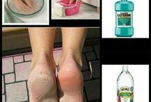 pieds lisses
