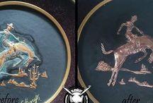 Hoodiegan paintings restoration