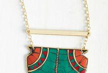 I love big jewellery