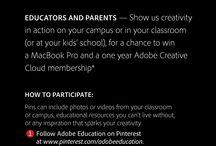 Creativity in Education / #AdobeEduSweeps