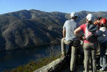 Atividades / Atividades no Gerês: caminhadas, caminhadas guiadas, Trekking, Observação da natureza, kayaque, canoagem, bicicleta elétrica, rappel, slide, via ferrata, arborismo, parque aventura