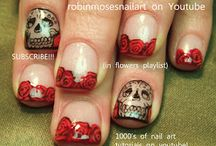 Nail Art  / Painted fingernails / by wini