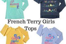 Ferry Terry Girls Tops