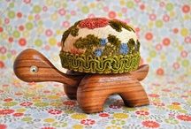 Arts & Crafts - Pincushions / by Marie E