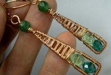 jewelery with wire