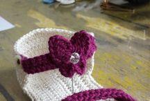 crochet scarpe