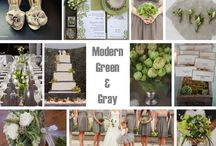 Wedding: Shades of Green / by Courtney Hart