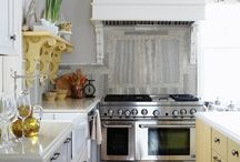 country industrial dream kitchen