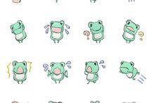 Froggies and bunnies
