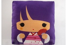 Kawaii Pillows & Home / by Melissa Marie