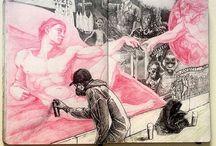 Inspiration teckningar