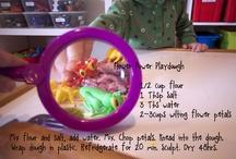 Playdough {Recipes} / by Sarah Rose