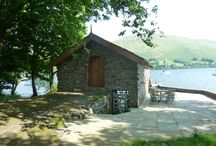 Idea #7: The Boathouse, Ullswater / A boathouse bolthole with private lakeshore in the stunning Lake District. Gloriously romantic set-up and setting - you'll never tire of the captivating views and you even get a rowboat to explore the lake. Read more here...http://thatideasgirl.com/travel/idea-7-the-boathouse-ullswater/