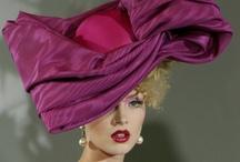 FANCY HATS AND FASCINATORS / Hats / by Elaine Montaro