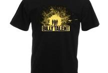 Billy Talent 2 Side Black T-shirt